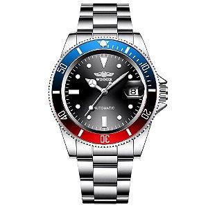 Relógio Masculino Automático Winner Submariner