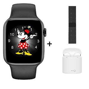 Relógio Eletrônico Smartwatch X8 - 44mm + Fone + Pulseira Extra