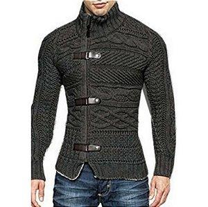Blusa Cardigan Imperador Masculino Trend Coat