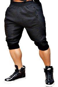 Bermuda Masculina em Moletom Jogger