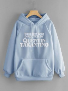 Blusa de Moletom Aesthetic - Quentin Tarantino