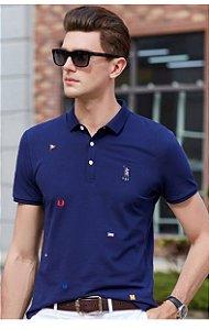 Camisa Polo Masculina em Algodão Premium