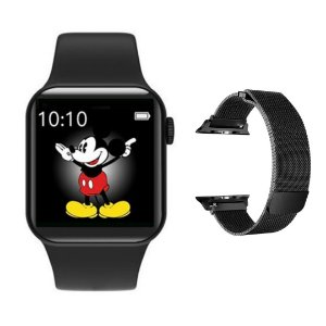 Relógio Eletrônico Smartwatch Iwo Max 2.0 - 43mm + Brinde