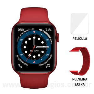 Relógio Smartwatch Iwo 13 Original Série 6 GPS + Brindes