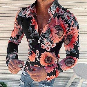 Camisa Social Masculina Florenza