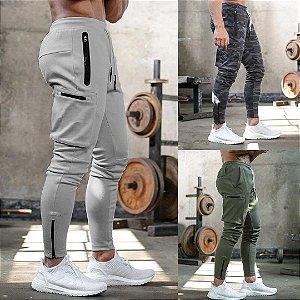 Calça de Moletom Fitness Jogger Masculina