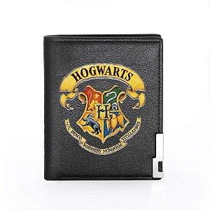 Carteira Em Couro Hogwarts
