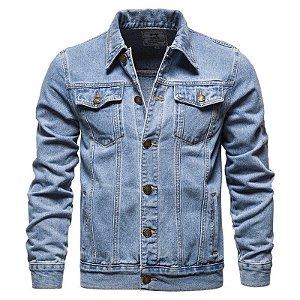 Jaqueta Jeans Masculina Tradicional