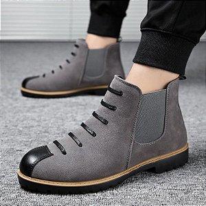 Bota Ankle Boots Masculina Fashion Style - 37 ao 42
