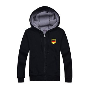Jaqueta em Moletom com Capuz - Alemanha