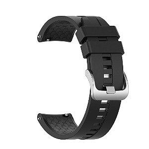 Pulseira em Silicone 22mm de Largura para Relógios