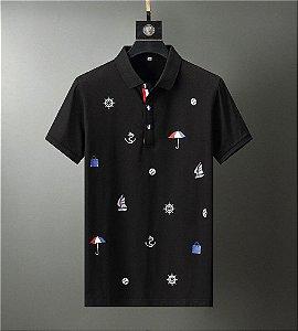 Camisa Gola Polo Masculina TH Sol e Mar