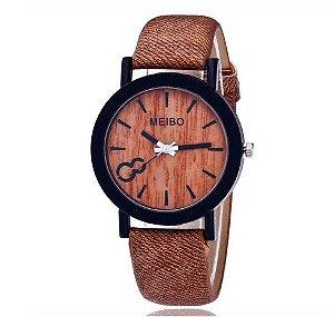 Relógio Meibo Madeira