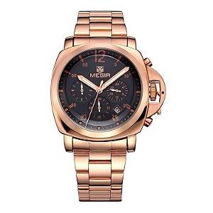 Relógio Megir Luxo