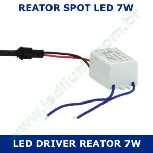 Reator Driver Spot Led 4w / 7w Bivolt - LEDILUMI