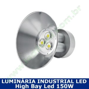 Luminaria Industrial Led High Bay 150w 6000k - Ledilumi