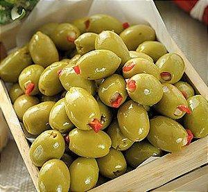 AZEITONA verde recheada com pimentão (kg)