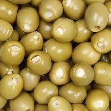 AZEITONA verde recheada com alho (kg)