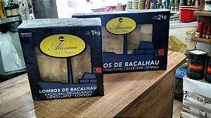 BACALHAU  Gadus Macro CONGELADO dessalgado (2kg)