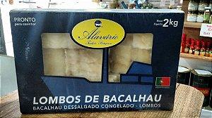 BACALHAU  Gadus Morhua CONGELADO dessalgado (2kg)