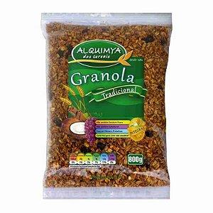 GRANOLA de cereais ALQUIMYA - Tradicional (800g)