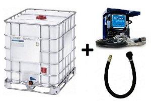 Kit de Abastecimento para Diesel à Bateria com IBC - 230V 60L/min