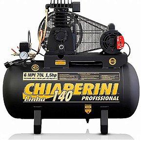 Compressor Monofásico de 6 MPI 70 Litros Motor de 1.5 HP