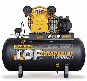 Compressor de Ar Top - 10 Pés - 110 Litros - Monofásico