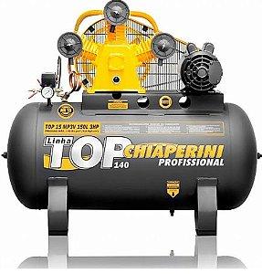 Compressor Top 15 MP3V 150 Litros Motor 3Hp Monofásico