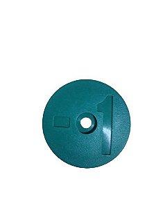 Número para Disco de Identificação de Tanque - Verde