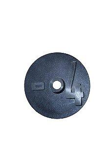 Número para Disco de Identificação de Tanque - Preto