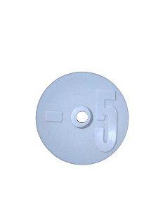 Número para Disco de Identificação de Tanque - Branco