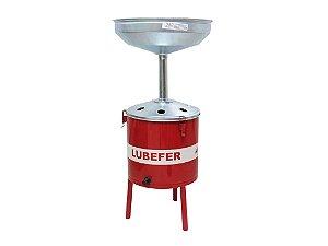 Pingadeira de óleo capacidade 25 litros - sem funis Lubefer