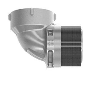 "Terminal Eletrosoldável Fêmea Cotovelo 90° - 2"" - 63mm"