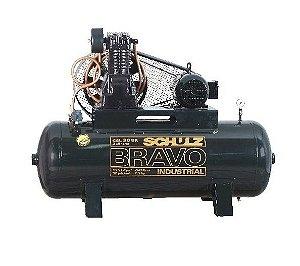 Compressor de Ar - Schulz Bravo Industrial - 5hp - monofásico