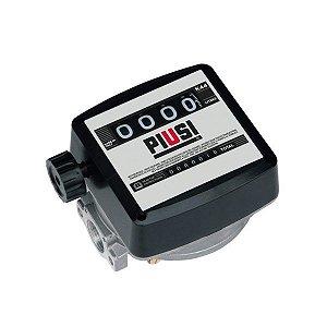 Medidor Mecânico 4 Dígitos Para Óleo Diesel - Vz. de 20 A 120Lpm