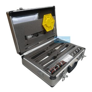Maleta Para Análise de Combustível - Básica com 7 Itens