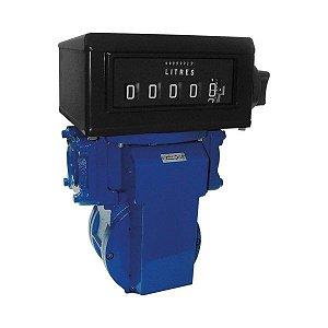 Medidor Registrador Mecânico Para Combustíveis - Alta Vazão 380 LPM