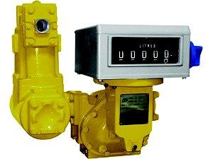 Medidor Registrador Mecanico - Alta Vazão 25 A 250Lpm