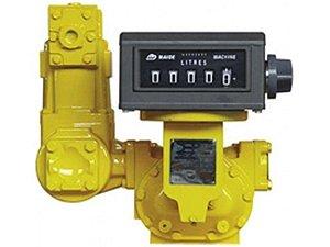 Medidor Registrador Mecanico Para Combustiveis - 3 Pol - 100 A 1000Lpm