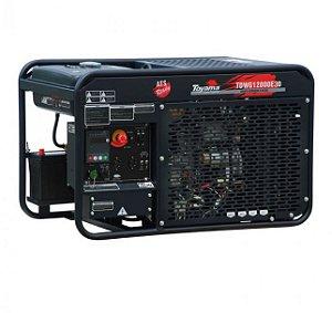 Gerador de Energia a Diesel 12,6 KVA -Trifasico 380v -aberto