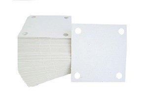 Papel Filtrante quadrado 7X7 - 4 Furos