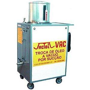 Maquina para troca de óleo a vácuo 35 Litros - Jactoil