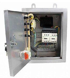 Painel ATS de Transferência Automática Trifásico 220V para Geradores