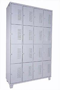 Roupeiro de Aço c/ 16 portas pequenas