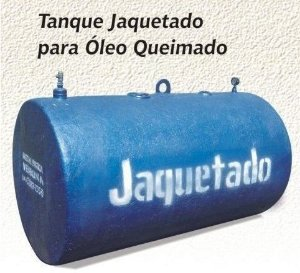 Tanque Jaquetado de Óleo Queimado