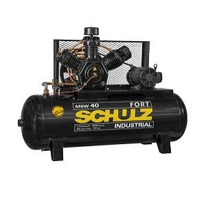 Compressor de Ar de 40 Pés 425 Litros com Motor Aberto 220/380V - SCHULZ