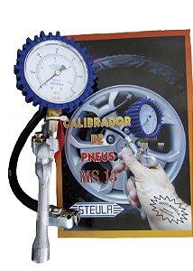 Calibrador de Pneus Tipo Relógio MS 13