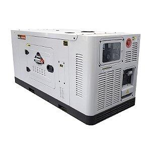Gerador de Energia a Diesel 220V Trifásico 25 KVA - Cabinado Silencioso