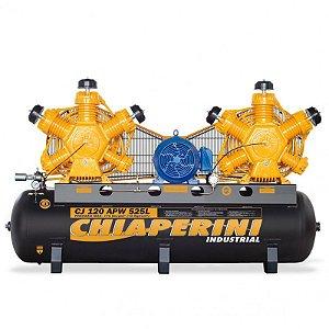 Compressor de Ar industrial 120 pés 525 Litros - trifásico